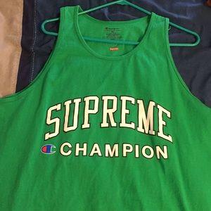 2cf5a2454588a1 Supreme x Champion Men s Tank